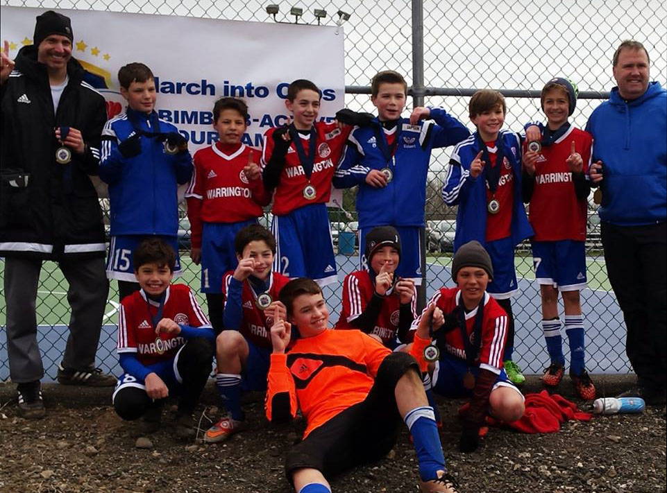 Warrington U12 Fury Take 1st Place at March Into Cups!