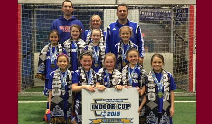 U9 Girls Academy Red Team Are Champions!