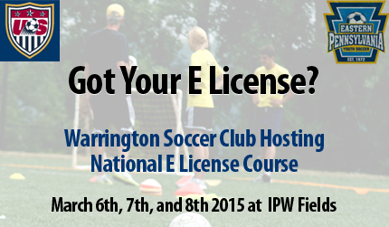 Warrington Soccer Club To Host National E License Coaching Education Course
