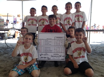 Red Swarm Win U9 Beach Blast